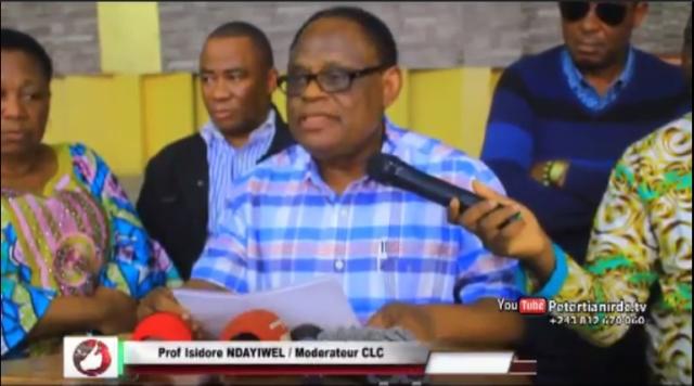 Prof. Isidore Ndayiwel; Moderateur CLC