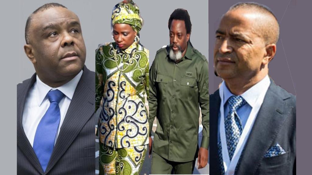 Jean-Pierre Bemba, Olive Lembe Kabila, Joseph Kabila, Moise Katumbi
