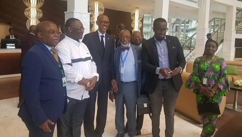 Delegation de la RD Congo à Kigali