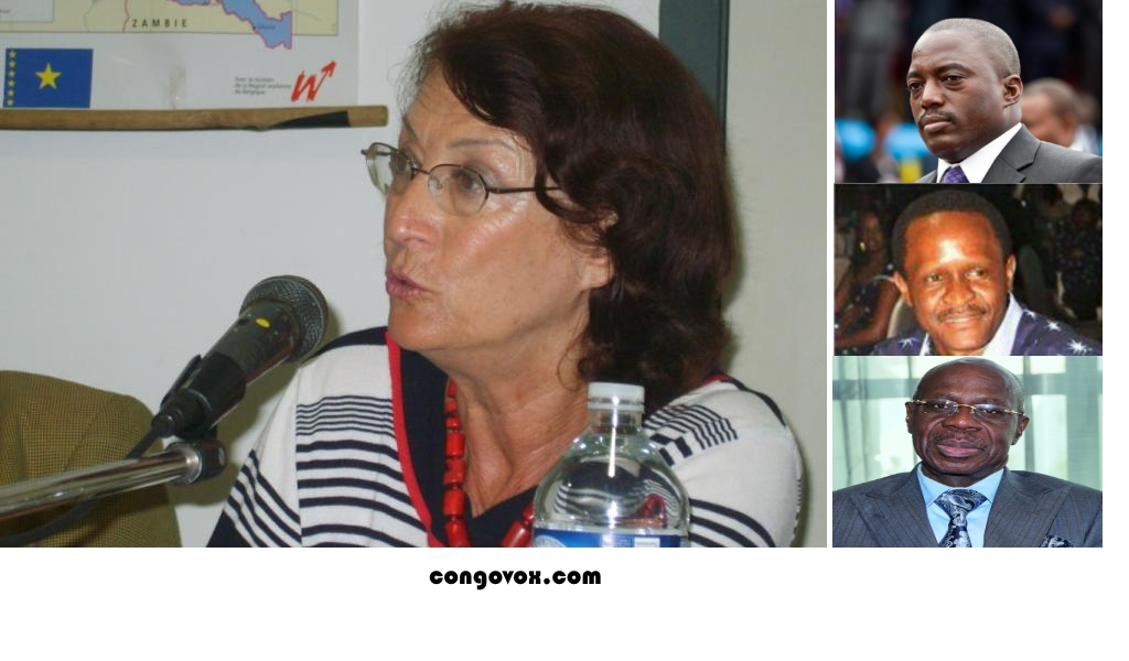 Collete Braeckema et les predateurs de la RDC: Joseph Kabila, Francis Selemani et Albert Yuma