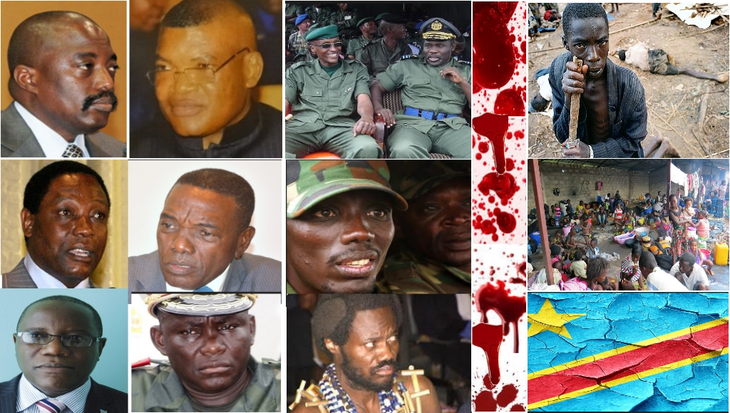 Quelques responsables de la soufrance de guerres et soufrances de Congolais