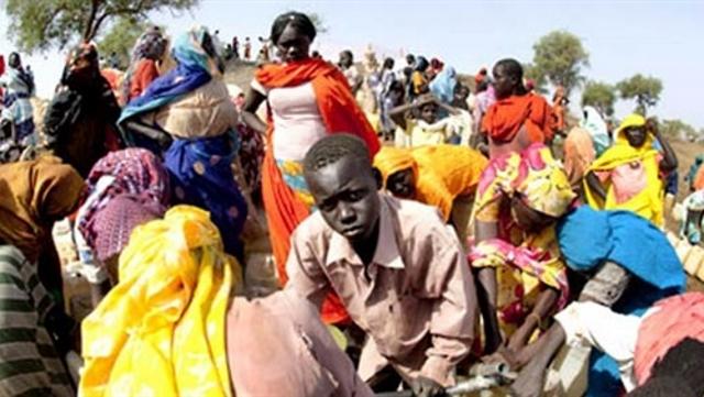 Les refugies soudanais