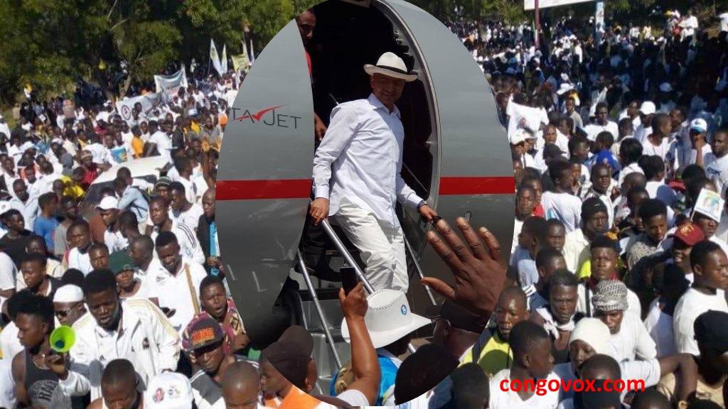 Retour de Moise Katumbi de 3 ans d'exil, au 20-mai-2019