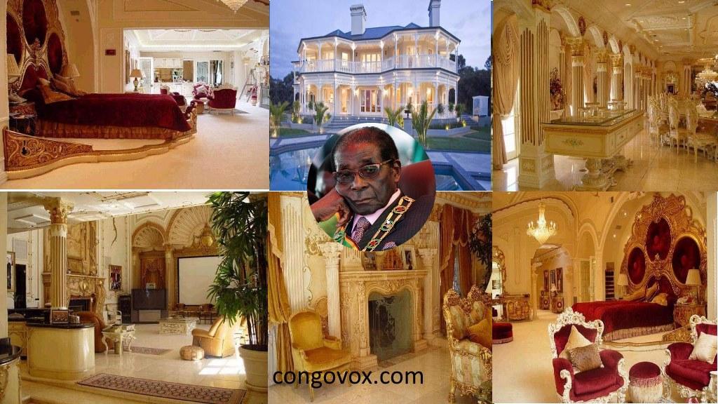 Le luxe de Robert Mugabe, ancien president dechu du Zimbabwe