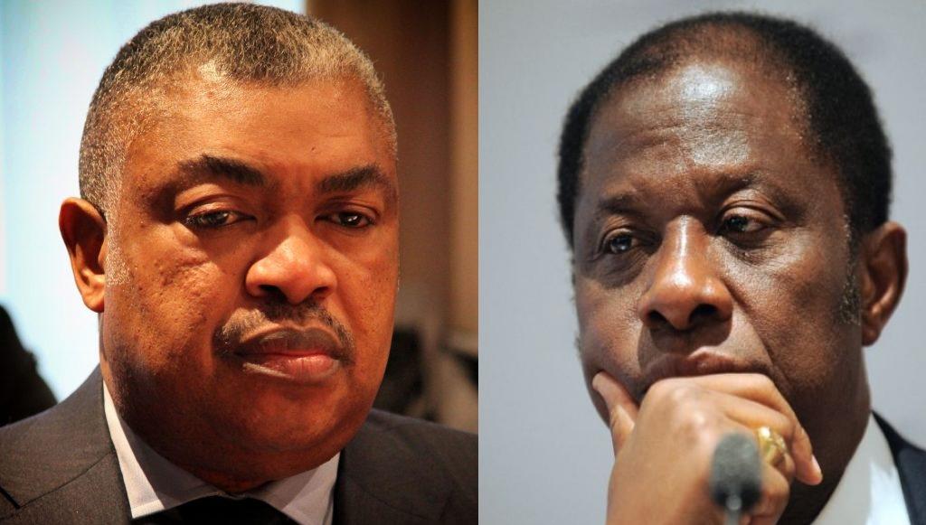 Samy Badibanga et Tambwe Mwamba
