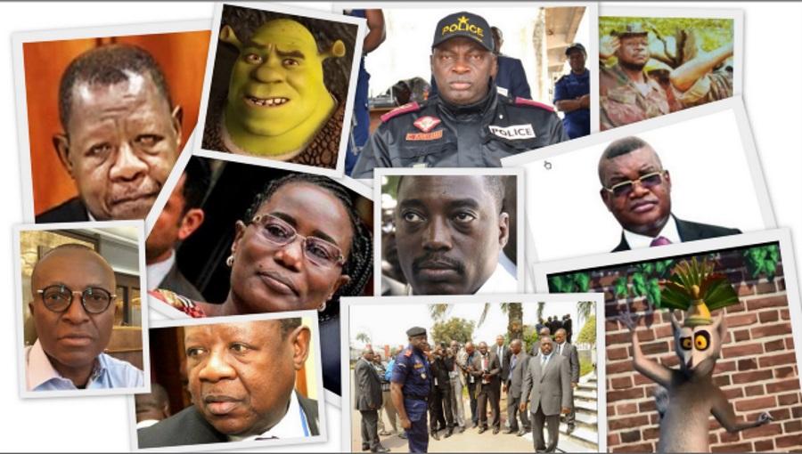 Karubi, Mende, Jaynet Kabila, Joseph Kabila, Kanyama, Kalev Mutond et Shrek Ndundu