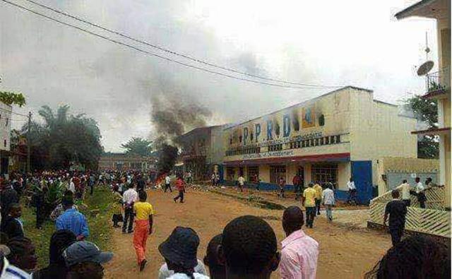 Siège de PPRD à Mbadanka