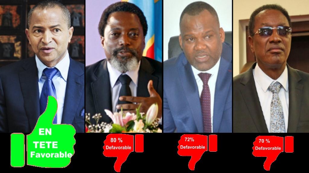 Moise Katumbi, Joseph Kabila, Corneil Nangaa, Bruno Tshibala
