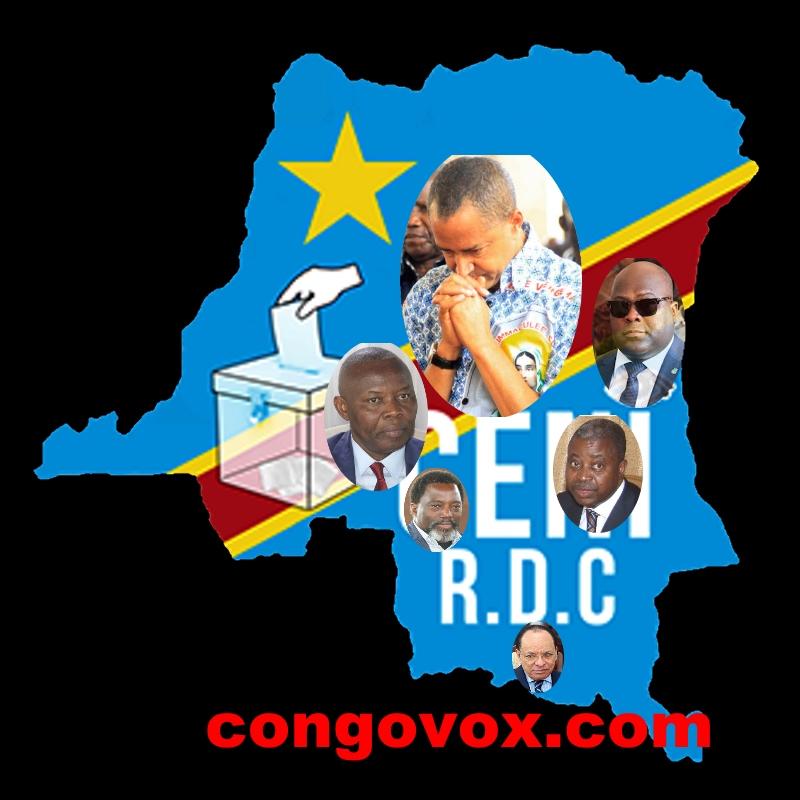 Moise Katumbi, Felix Tshisekedi, Vital Kamerhe, Joseph Kabila et Leon Kengo wa Dondo