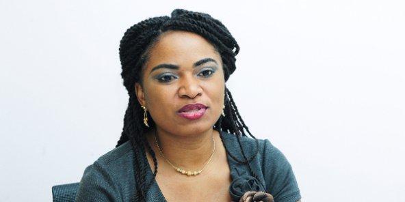 Soraya Aziz Souleymane, militante pro-démocratie au sein de la Lucha (RDC), le 23 novembre 2016 à Paris