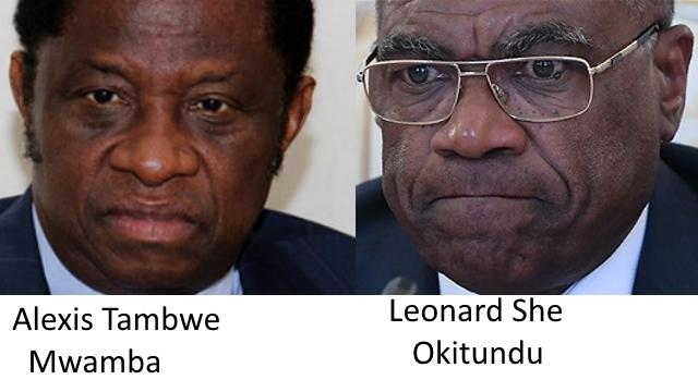 Ministre Tambwe Mwamba et She Okitundu