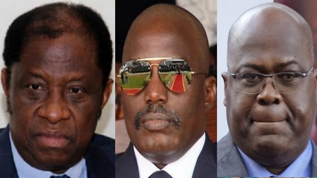 Alexis Tambwe Mwamba,Joseph Kabila, Felix Tshisekedi Tshilombo