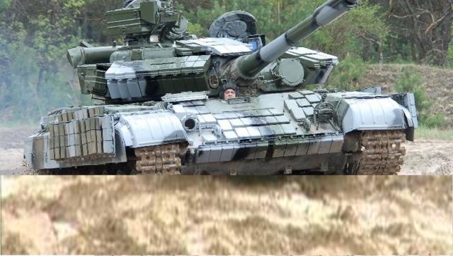 Char de Combat: T-64BV-1s Photo de l'armée Ukrainienne