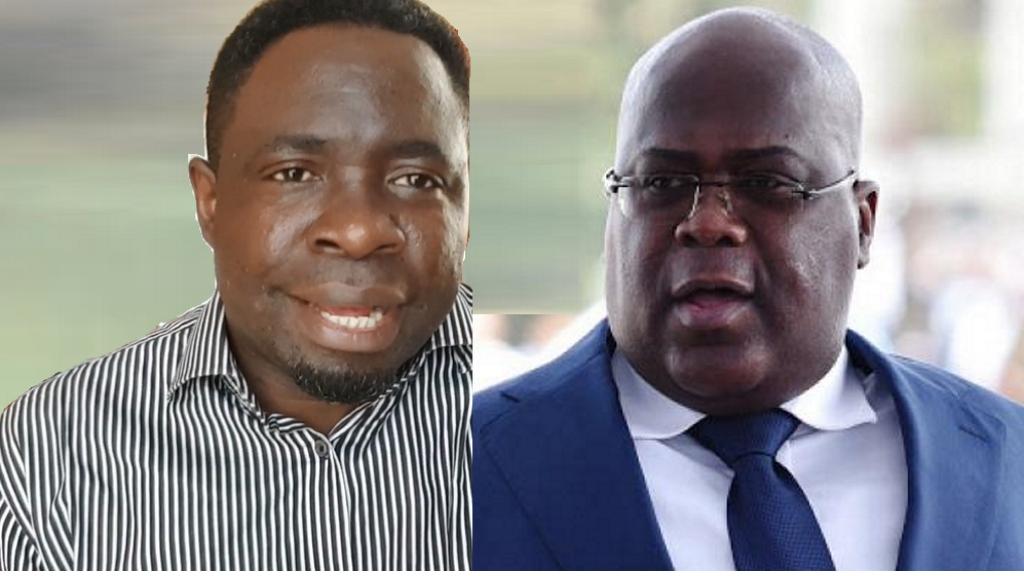 Timothée Tshaombo Shutsha et Felix Tshisekedi