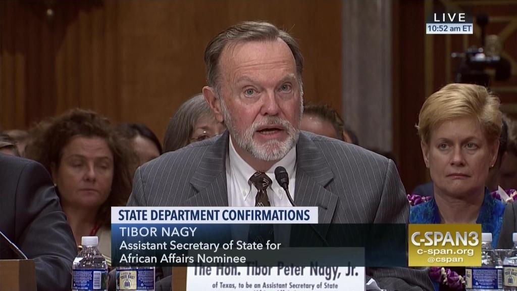 Tibor Nagy, Secrétaire d'Etat Adjoint aux Affaires Africaines