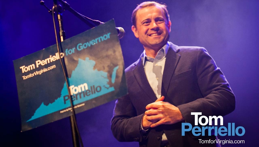 Tom Perriello, candidat gouverneur de l'Etat de la Virginie