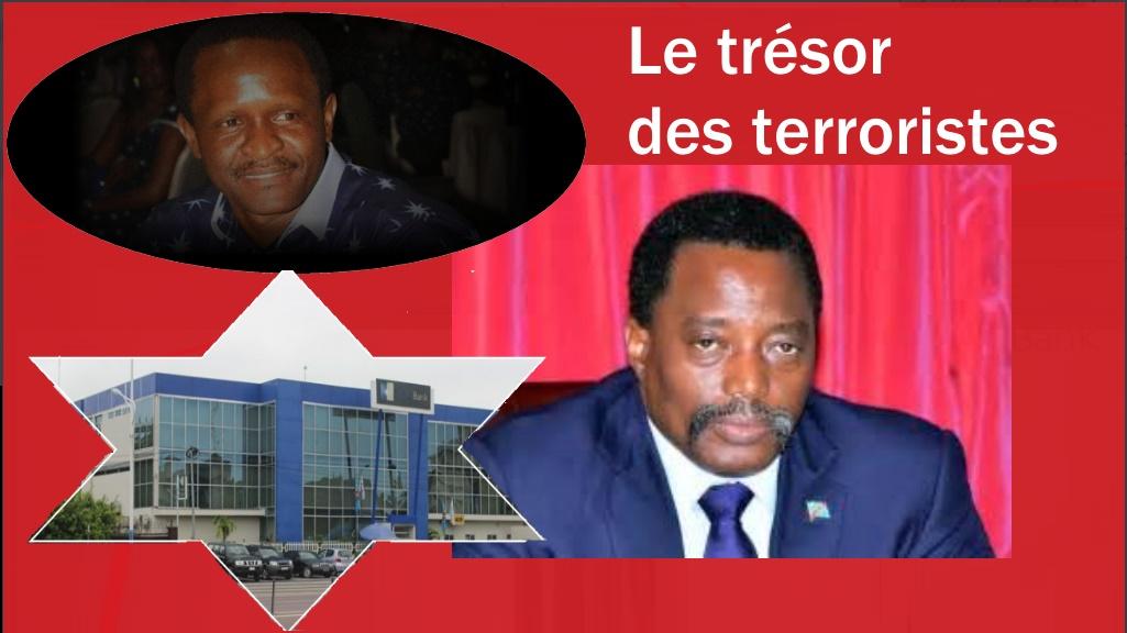 Kabila Selemani et Joseph Kabila