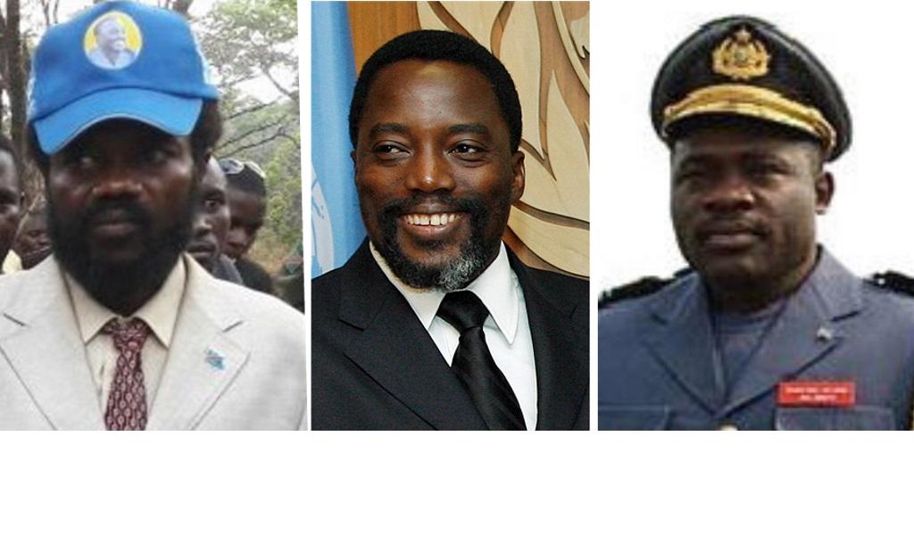 Gédéon Kyungu, Joseph Kabila et John Numbi