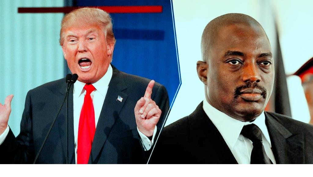 Donald Trump et Joseph Kabila