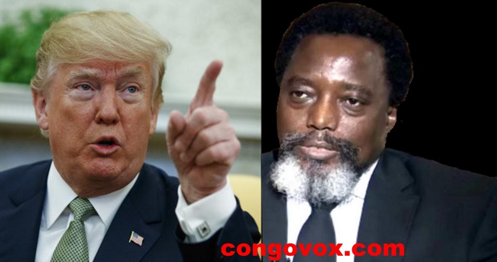 Donald Trump, Joseph Kabila