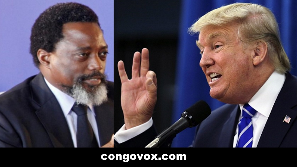 Joseph Kabila, President Donald Trump