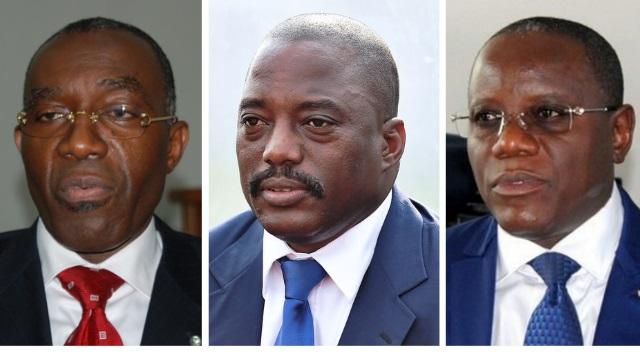 Raymond Tshibanda, Joseh Kabila, Aubin Minaku