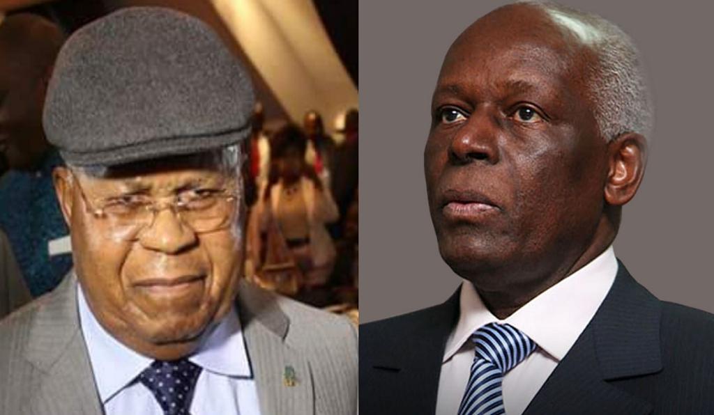 Etienne Tshisekedi et Edouardo dos Santos