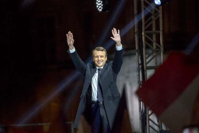Emmanuel Macron, President Elu de la France
