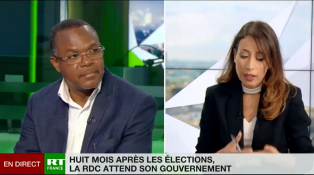 Bernard Kabeya, ancien representant de l'UDPS en France