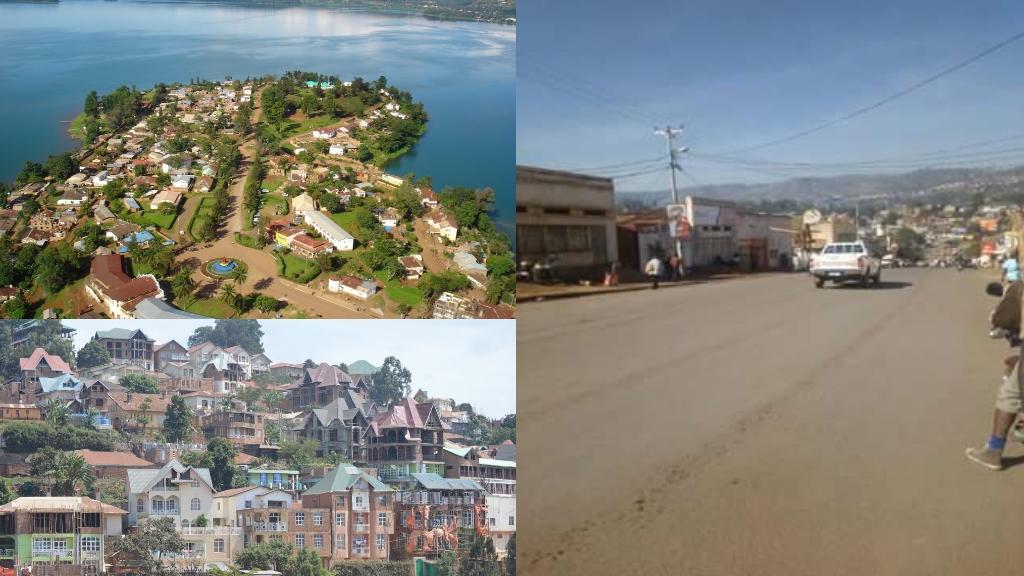 La ville de Bukavu