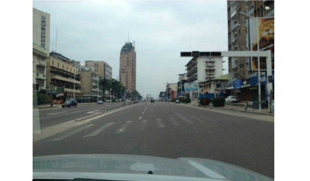 Ville Morte a Kinshasa - le 19 Decembre 2016