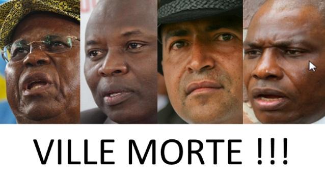 Etienne Tshisekedi, Vital Kamerhe,Moise Katumbi et Martin Fayulu