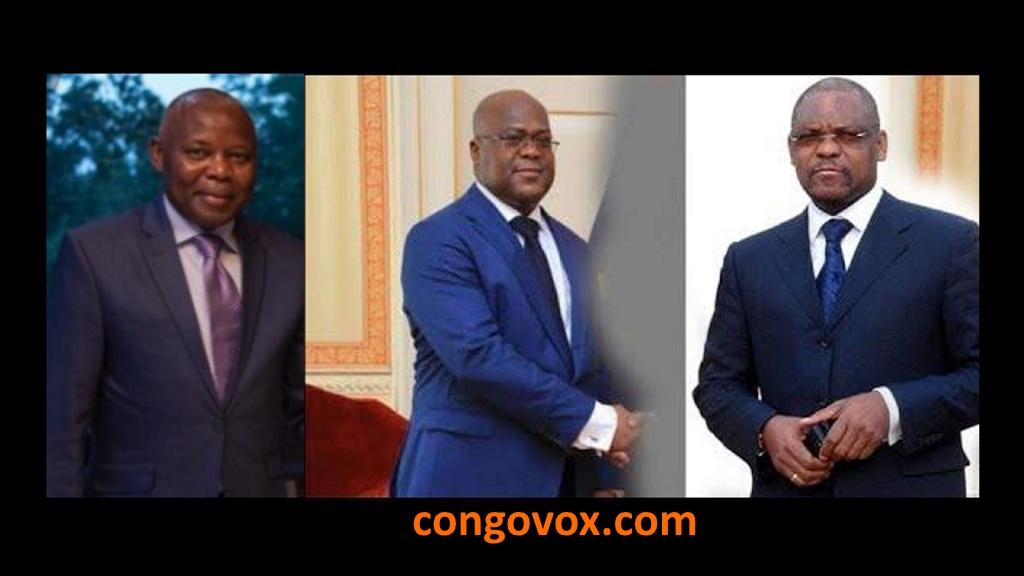 Vital Kamerhe, Felix Tshisekedi, Francois Beya