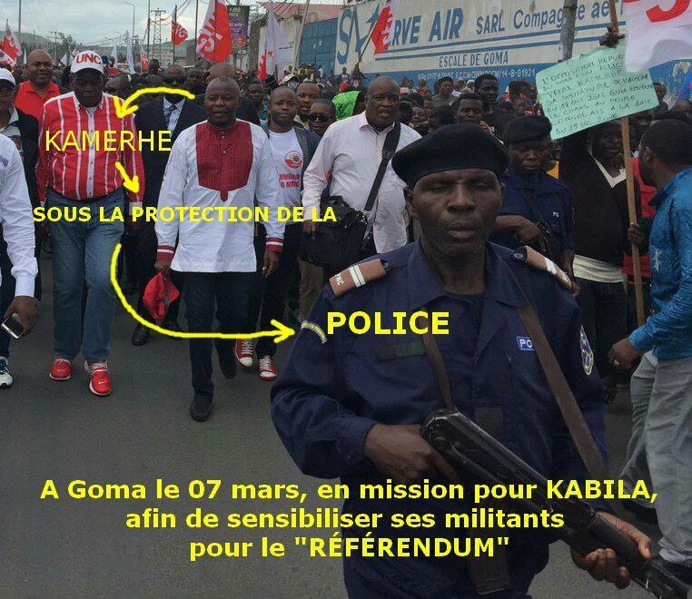 Vital Kamerhe a Goma