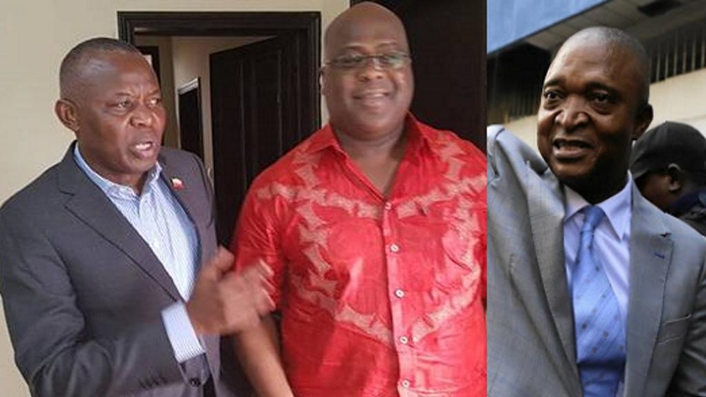 Vital Kamerhe, Felix Tshisekedi, Emmanuel Shadari