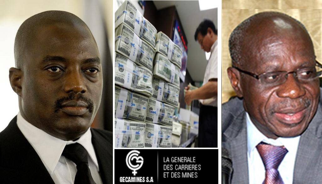 Joseph Kabila et Albert Yuma
