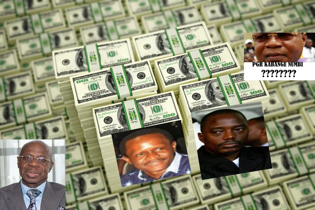 Albert Yuma, Francis Selemani Mtwale, Joseph Kabila, Kabange Numbi (PGR)