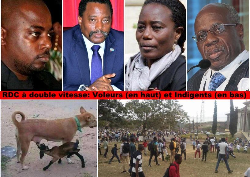 Zoé Kabila, Joseph Kabila, Jaynet Kabila et Albert Yuma