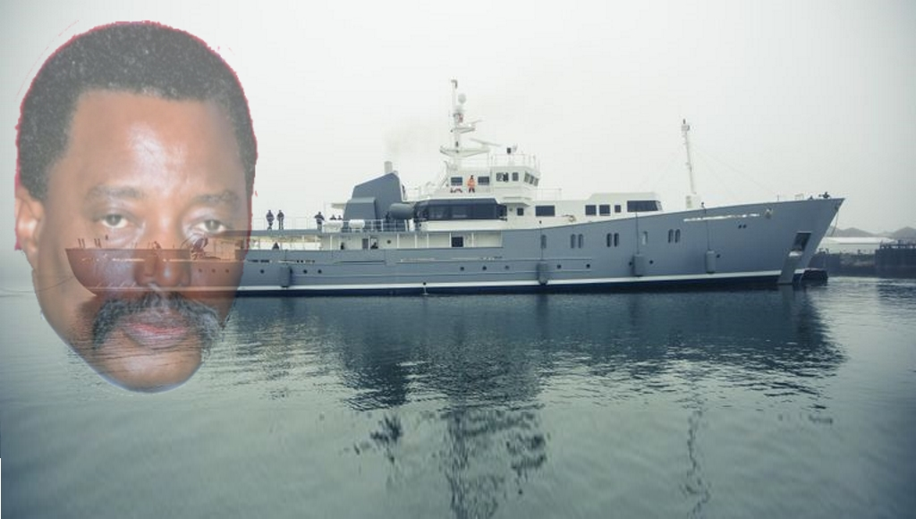 Le Yatch Luxueux de Partenaire de Kabila