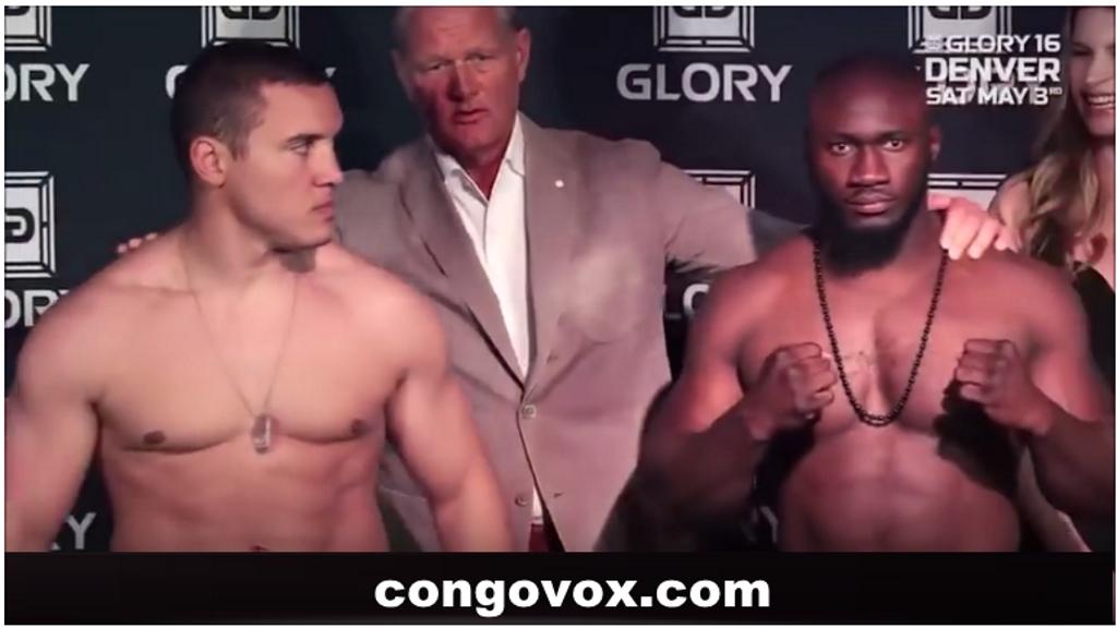 Les boxeurs Pat Berry et Zack Mwekassa