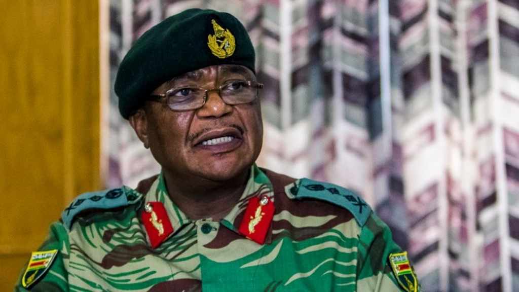 Coup d'Etat au Zimbabwe, General SB Moyo