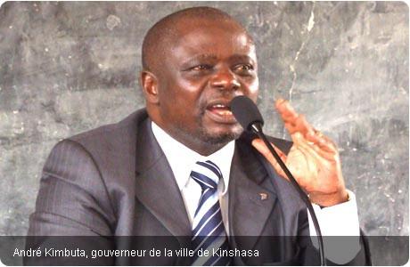 le pretendu vice-presidenr de la RD du Congo
