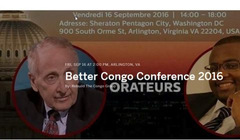 Better Congo Conference 2016