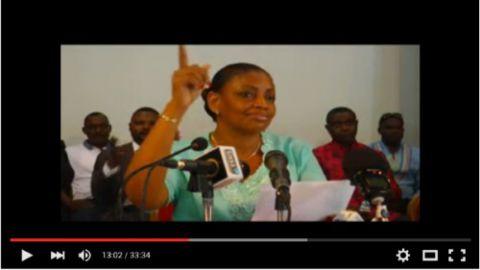 Madame Yves Bazaiba, Dynamique de l'Opposition