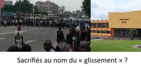Etudiant congolais sacrifiés au nom du « glissement » ?