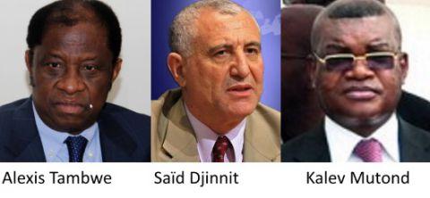 Alexis Tambwe, Saïd Djinnit, Kalev Mutond, Dialogue