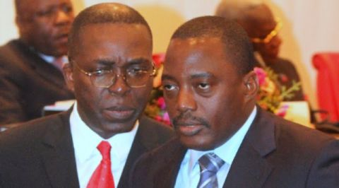 Joseph Kabila et Matata Mponyo