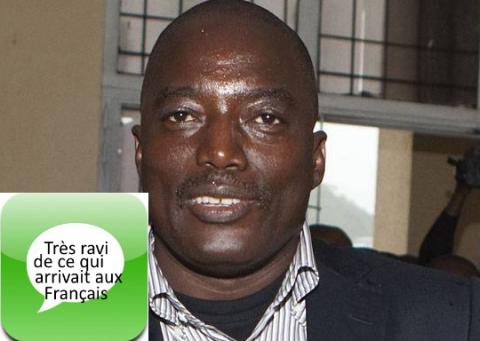 Kabila fort interieurement ravi de ce qui arrivait ux Français