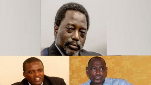 Joseph Kabila, Azarias Ruberwa, Moise Nyarugabo