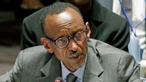 President Kagame du Rwanda